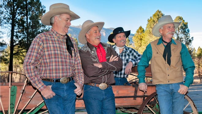 The Bar D Wranglers perform Saturday night at the Bonnie Dallas Senior Center in Farmington.