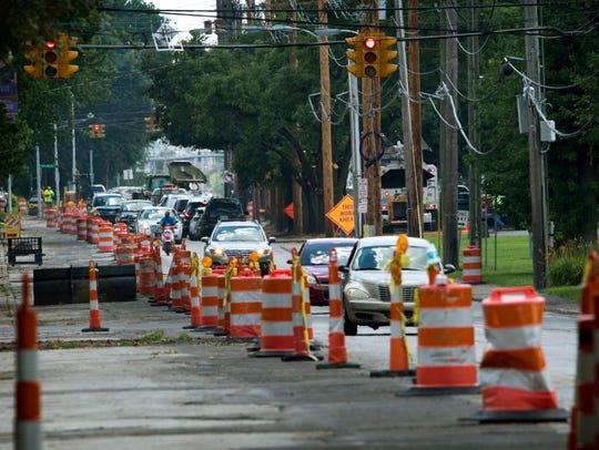 Weinbach Avenue's continuing construction challenges