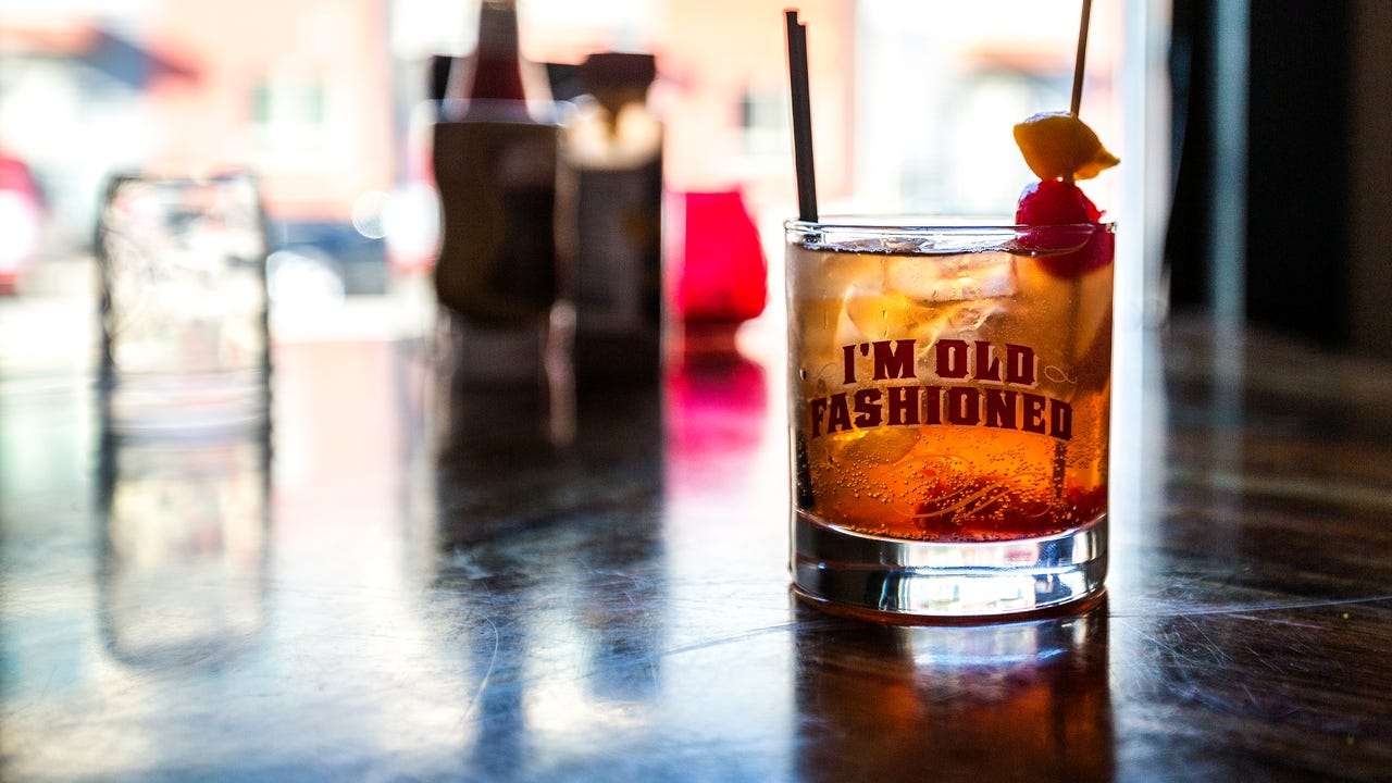 David Sapp, the general manager of Drink Wisconsinbly in Milwaukee, Wis., describes the bar's Wisconsin flare and old fashioned cocktail offerings on September 26, 2017.