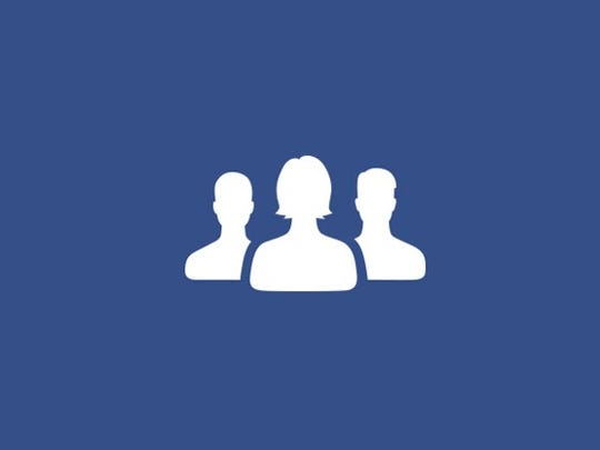 Facebook friends icon, before (left) and after (right)