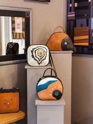 Handbags by Mary Ellen Sisulak of Turtle Ridge Gallery,
