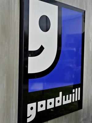 Goodwill logo sign