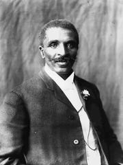 Educator and scientist George Washington Carver is shown in an undated portrait.