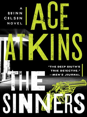 "This cover image released by Putnam shows ""The Sinners,"" by Ace Atkins."
