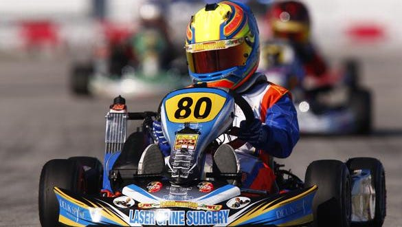 Arias Deukmedjian races in the Mini-Max Division at the 2016 National Challenge. He placed second and won a ticket to Italy representing Team USA. This year he will represent his country in Portugal.