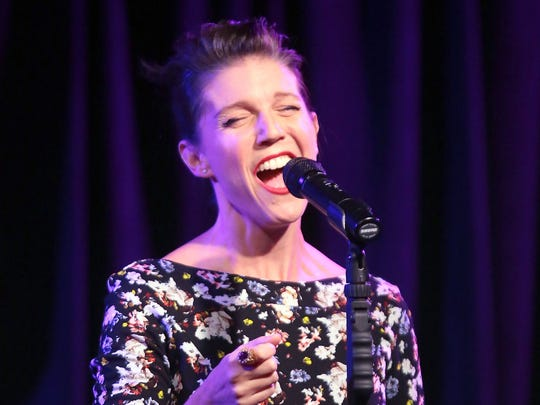 "AJ Lambert, shown in a 2015 file photo, returned to Michael Holmes' Purple Room to perform her grandfather, Frank Sinatra's album, ""In the Wee Small Hours"" in its entirety."