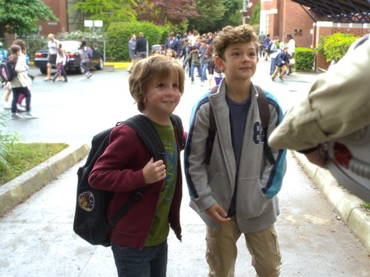 "Jacob Tremblay (left) and Noah Jupe star in ""Wonder."""