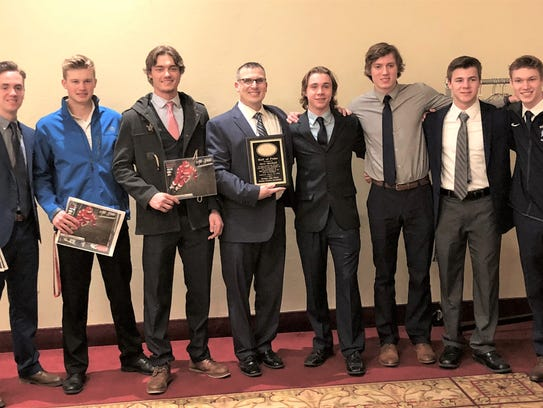 Several Stevenson players were honored by the Michigan