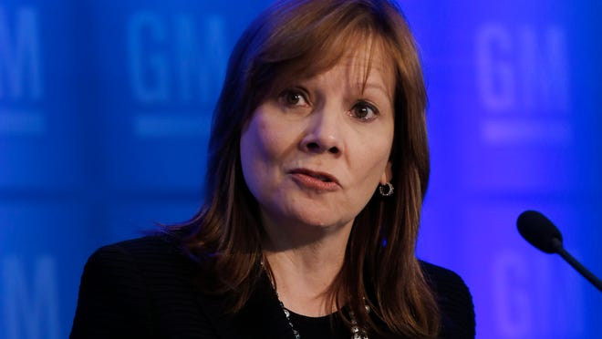 GM CEO Mary Barra, at a press conference before the automaker's annual shareholders meeting June 10 promises all victims of the defective GM ignition switches will be compensated.