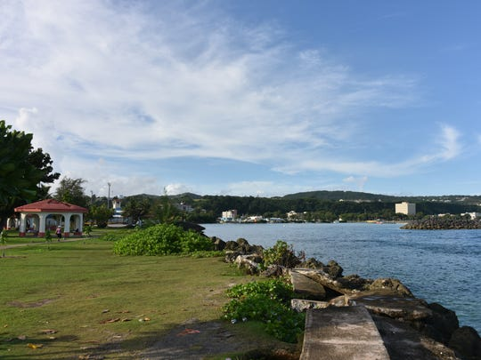 In this file photo, the weather was sunny and bright in Hagåtña on Nov. 16, 2016.