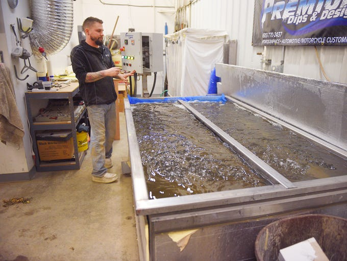 how to make hydrographic dip