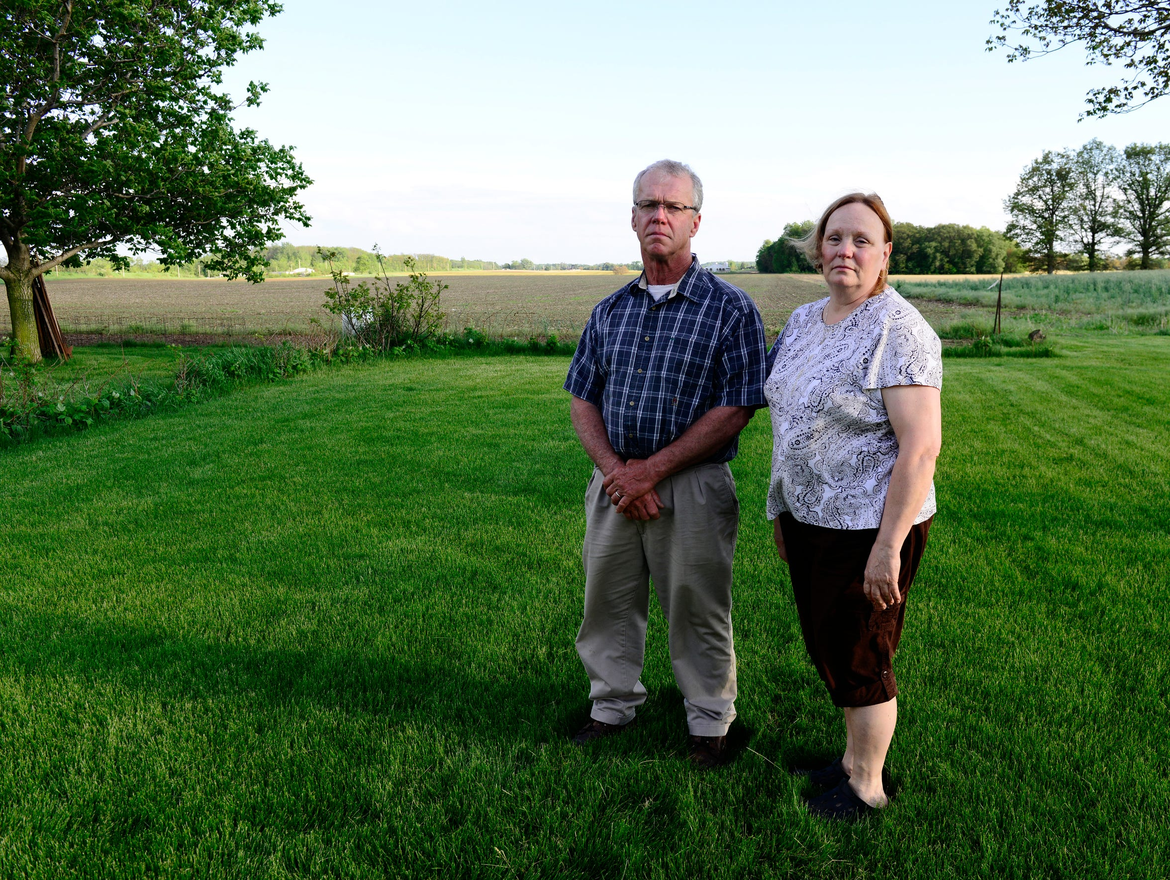 Nelson and Ann Wright say the quiet, peaceful setting