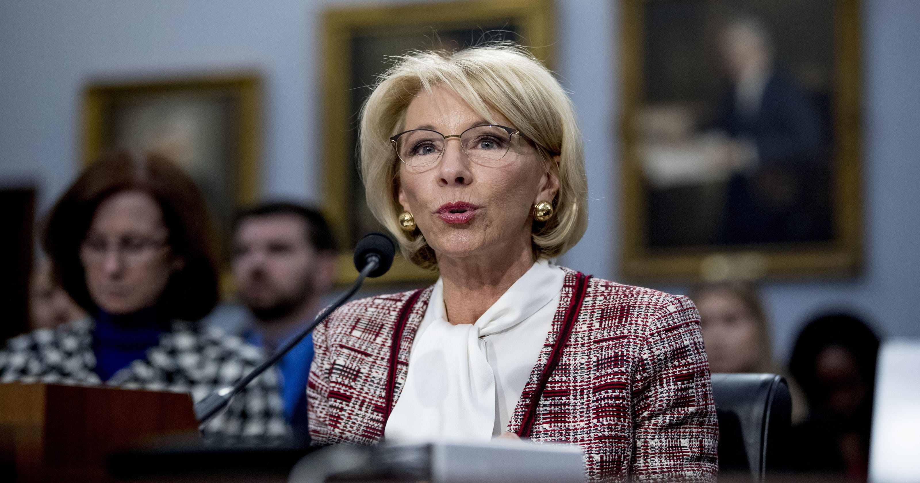 Big Worries About Betsy Devos >> Opinion Betsy Devos Stands Firm On Education Reform