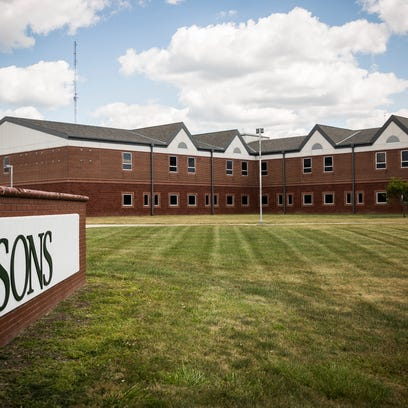 Asons, formerly Wilson Middle School, on Tillotson