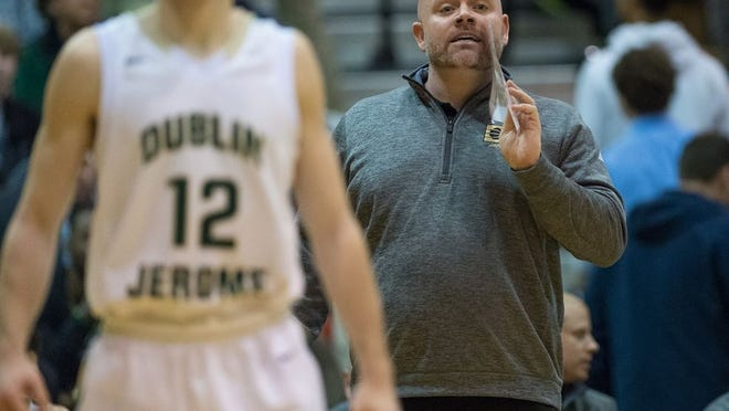 Jamie Pearson, former boys basketball coach at Dublin Jerome, will take over at Centennial, pending Columbus City Schools board approval.