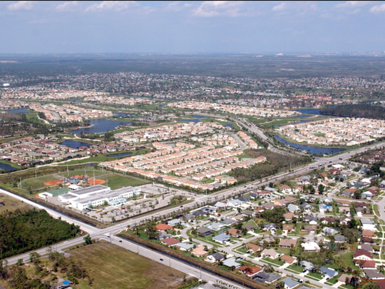 An aerial of Indiantown taken in 2006.