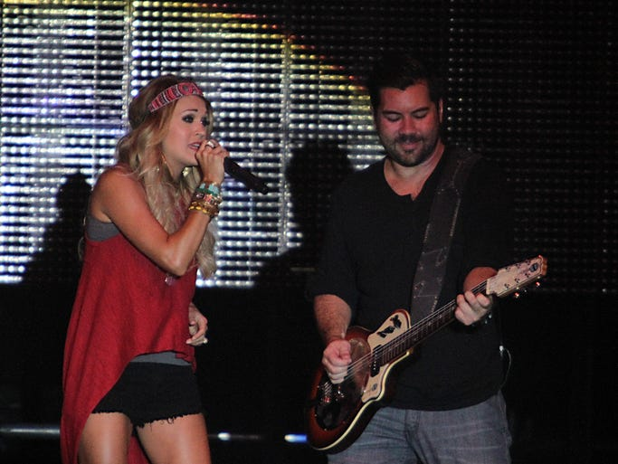 Carrie Underwood performs at Country USA on June 28 in Oshkosh.
