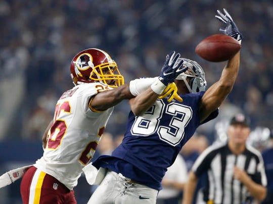 Washington Redskins cornerback Bashaud Breeland (26)