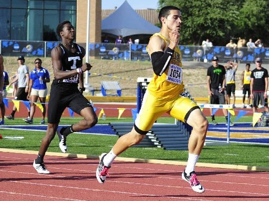 Angelo State's Luis Perez finished as a seven-time All-American after walking on to the Rams' track team in 2013. He broke ASU's school record in the 400 and earned two runner-up finishes at the national meet in 2016.