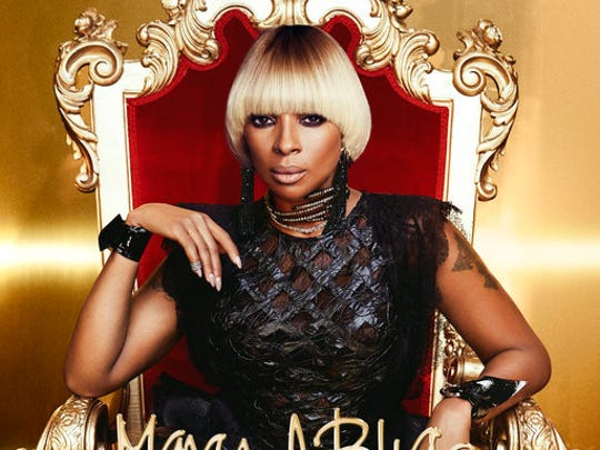 "This cover image released by Capitol Records shows ""Strength of a Woman,"" the latest album by Mary. J. Blige."