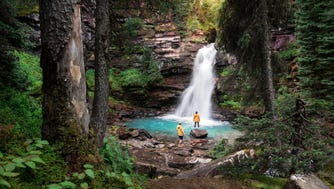 Two waterfalls that are worth checking out this spring in Colorado are South Mineral Creek Falls near Durango and Silverton ...