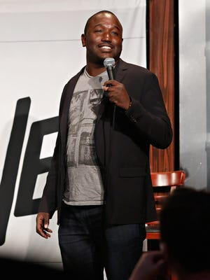 Hannibal Buress performs at Stand Up Live! at Gotham Comedy Club on Sept. 30, 2014 in New York City.