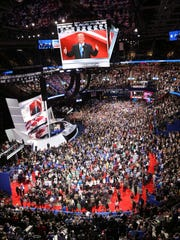 Monday evening at the Republican Convention.
