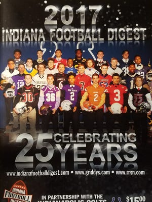 The 25th annual Indiana Football Digest cover.
