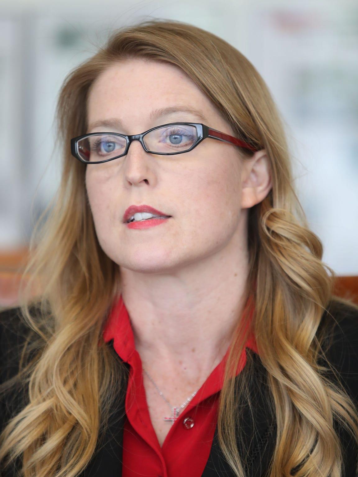 Riverside County District Attorney candidate Lara Gressley