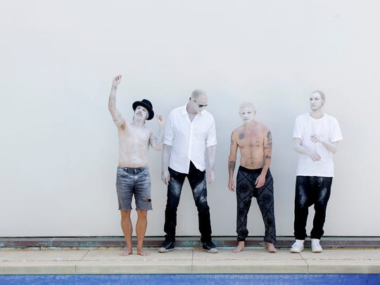 The Red Hot Chili Peppers will perform May 18 at Bankers Life Fieldhouse.