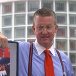 UA AD Greg Byrne recreates Bill Lumbergh role from 'Office Space'