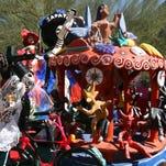 Photos: Dia de los Muertos masks