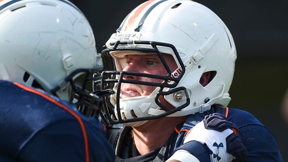 Auburn right guard Braden Smith has declined to speak about whether he'll return for the 2017 season.