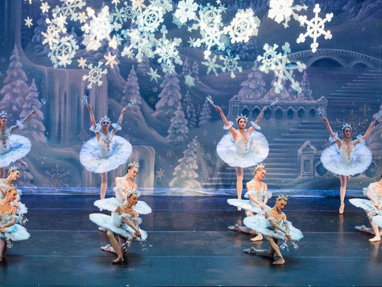 "A scene from ""The Great Russian Nutcracker"" at Barbara B. Mann Performing Arts Hall."