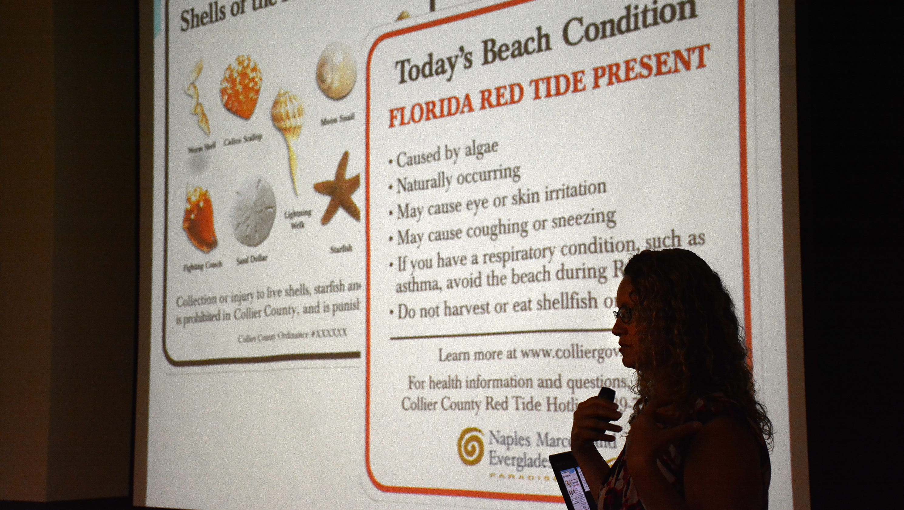 Red tide causing fish kills breathing trouble at naples for Naples tides for fishing