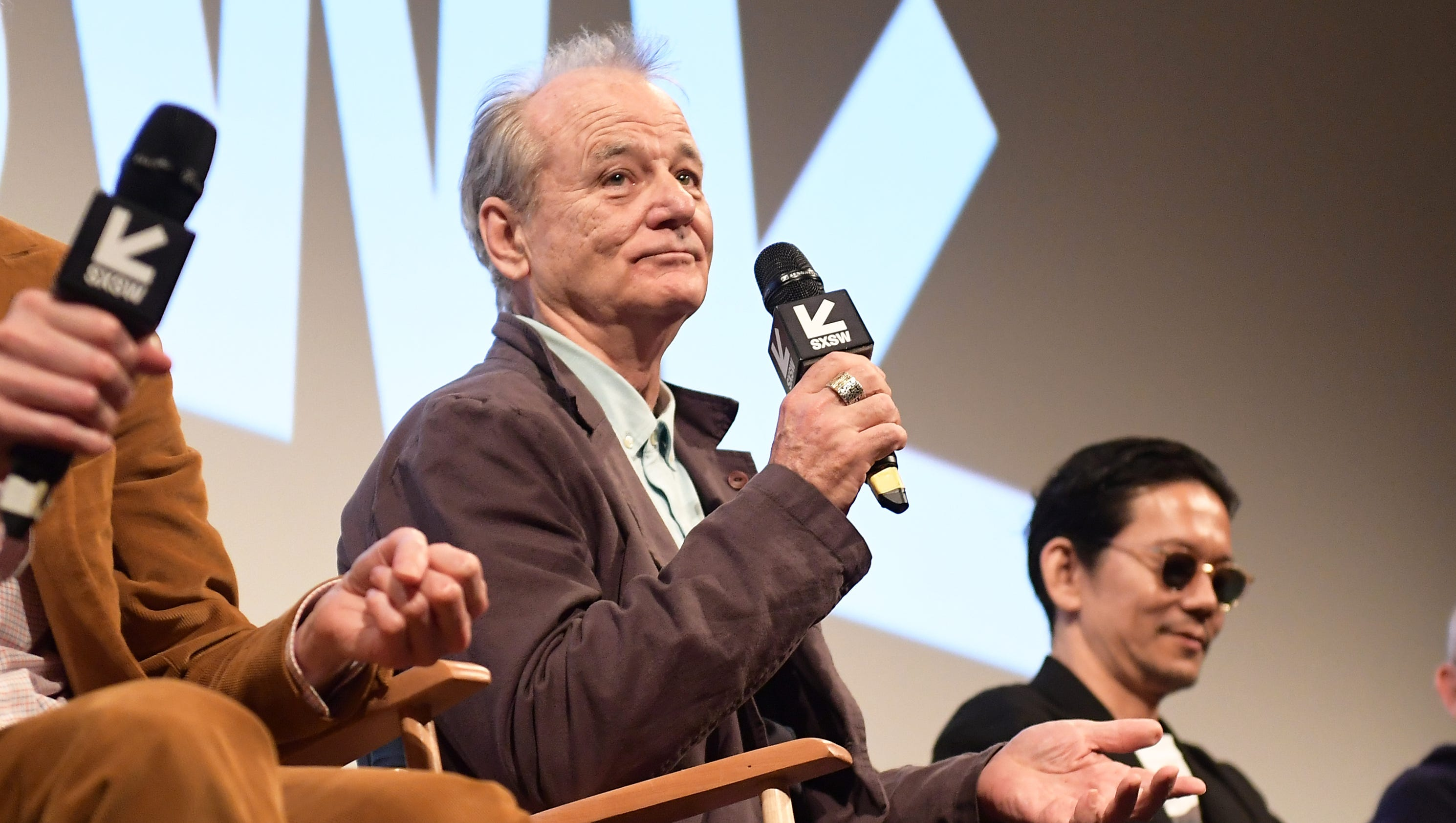 The 'Isle of Dogs' premiere at SXSW was riveting, then Bill Murray fell asleep