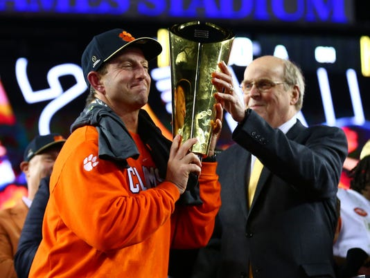Clemson's unlikely rise to elite of college football starts with Dabo Swinney