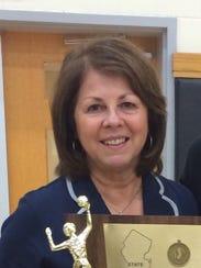 Immaculate Heart Academy volleyball coach Maria Nolan.