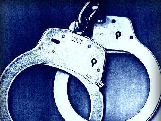 Presto graphic handcuffs