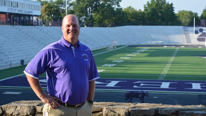 Elder High School introduced Kevin Espelage, a 1991 graduate, as the school's new athletic director on Tuesday, July 11, 2017.