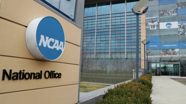 The NCAA offices in Indianapolis.