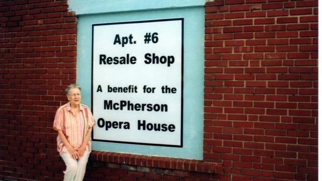 Vi Lundquist, who helped found a thrift shop to support the McPherson Opera House, passed away recently. The opera house is preparing for the end of stay-at-home orders and moving forward without one of its biggest supporters.