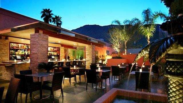 The Tropicale's menu brings locally grown organic and sustainably raised produce and meats to the forefront.  Courtesy of Tropicale The patio dining area is a popular feature at Tropicale Restaurant and Coral Seas Lounge, 330 East Amado Road in Palm Springs.