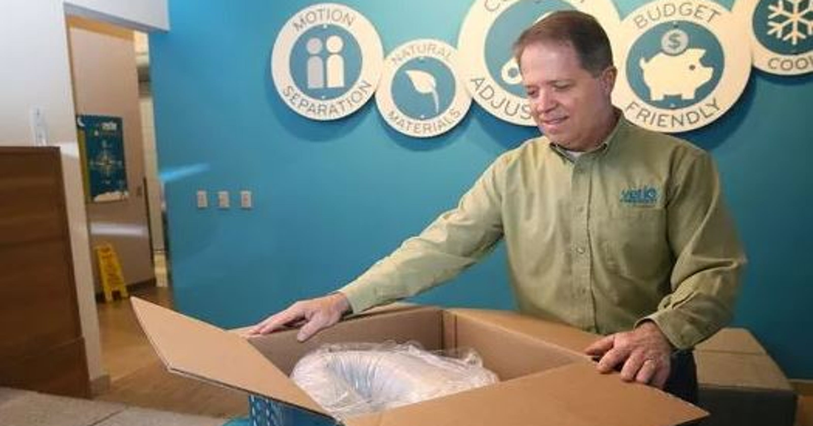 Online Sales Boom For Mattresses Squished Into Boxes