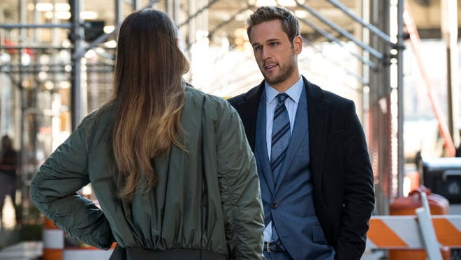 """""""Younger"""" (Ep. 211 - Airs March 16, 2016)""""  Liza (Sutton Foster) and Thad (Dan Amboyer) confront each other. """"Younger"""" airs Wednesdays at 10pm ET/PT on TV Land."""