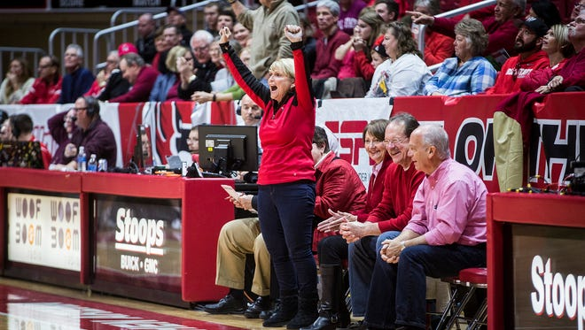 Ball State defeated Eastern Kentucky 91-86 in overtime at Worthen Arena Saturday, Dec. 10, 2016.