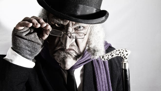 Ebenezer Scrooge is ready to make the rounds of regional theaters for productions of the holiday Christmas classic.