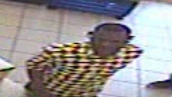 Police are searching for this man, who they believe used a stolen credit card to make purchases. Those with information should call Detective Allan Nabours at (615) 267-5434.