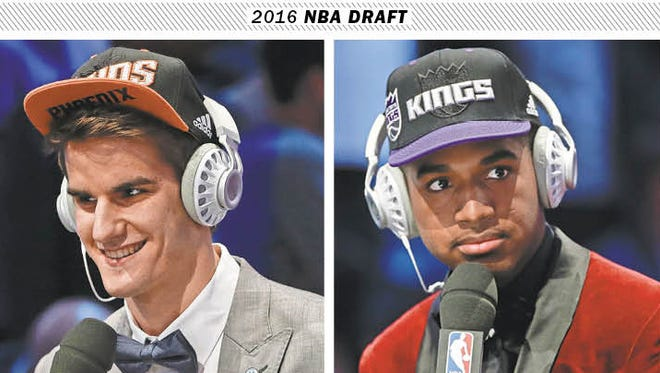 Dragan Bender and Marquese Chriss.