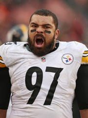 Pittsburgh defensive end Cam Heyward is out for the